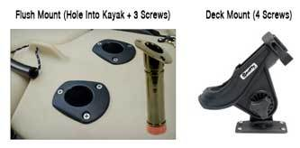 deck-mount-vs-flush-mount for kayaks