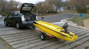 pedal kayak transport