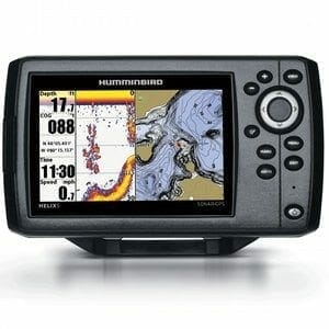 Humminbird HELIX 5 Sonar GPS Fishfinder for Ocean Kayak