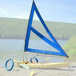Serenity Upwind Kayak Sail and Canoe Sail Kit