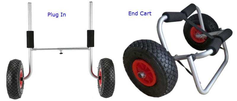 plug in vs end cart